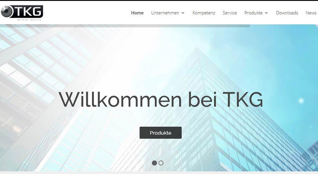 Neue TKG Webseite